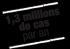 1,3 millions de cas par an
